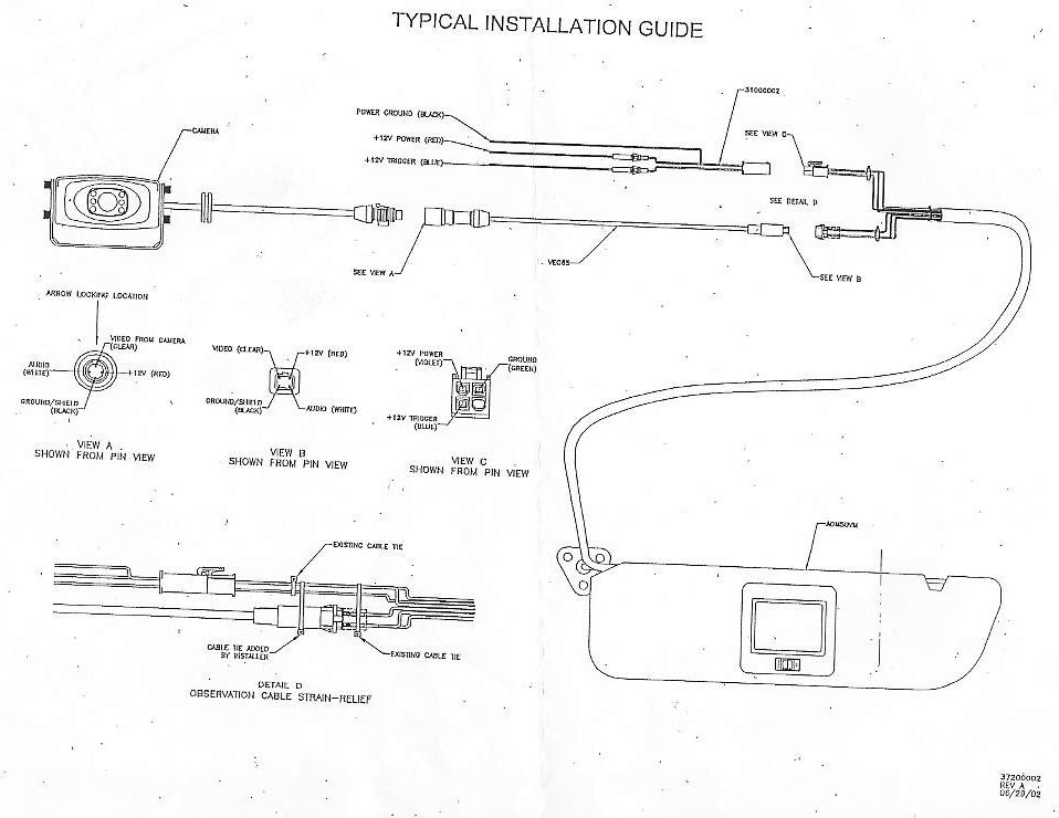 aom503vmctawire voyager camera wiring diagram bass cat wiring diagram \u2022 wiring motorhome reversing camera wiring diagram at aneh.co