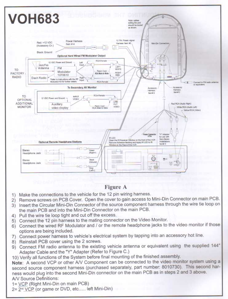 voh683_wiring_1 discount mobile video and rear observation systems voyager camera wiring diagram at arjmand.co